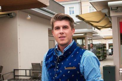 David Wareka am Landeswahlauftakt Wr. Neustadt September 2017