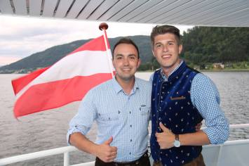 Alexander Murlasits und David Wareka am Landesjugendtag Kärnten Juni 2017
