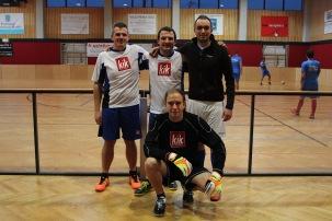Die Mannschaft der FJ Baden gemeinsam mit Landesobmann Alexander Murlasits
