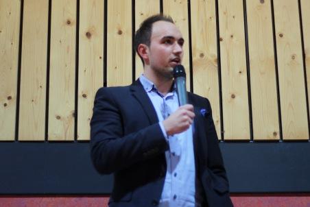 Unser Landesobmann Alexander Murlasits bei den Abschlussworten
