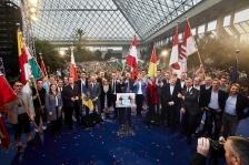 Am traditionellen Neujahrstreffen der FPÖ mit den Fahnenträgern der FJ NÖ