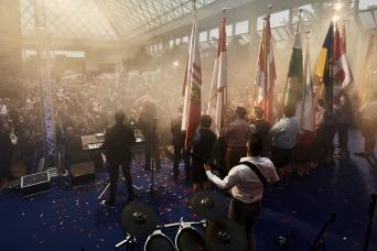 Unsere FJ NÖ Fahnenträger beim traditionellen Neujahrstreffen der FPÖ